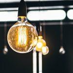 A light bulb.
