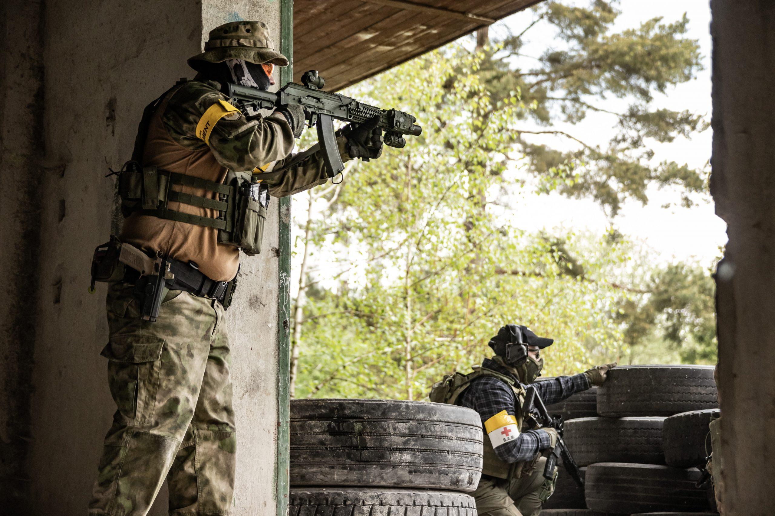 Frontline Soldiers