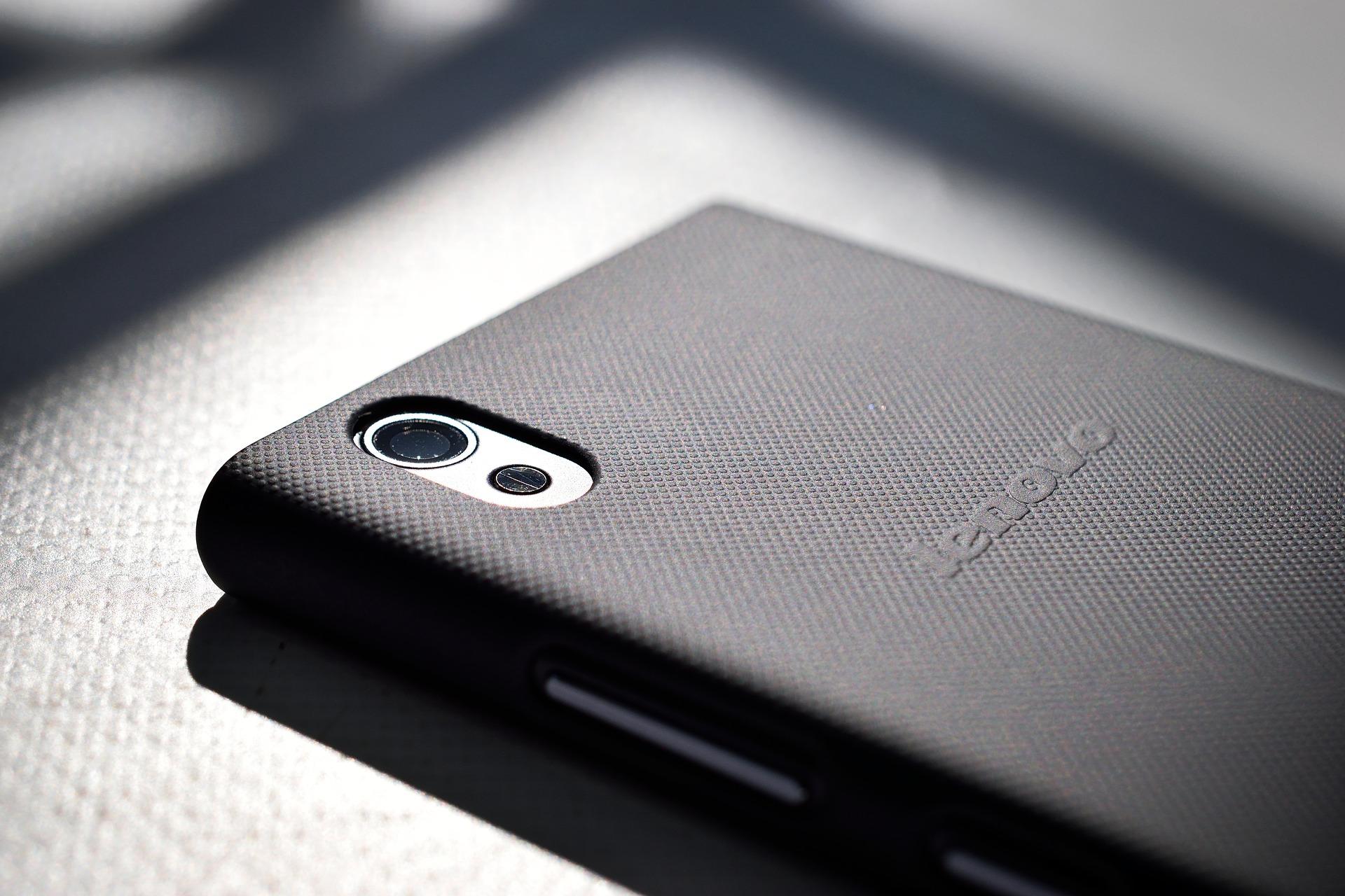 A Lenovo smartphone.