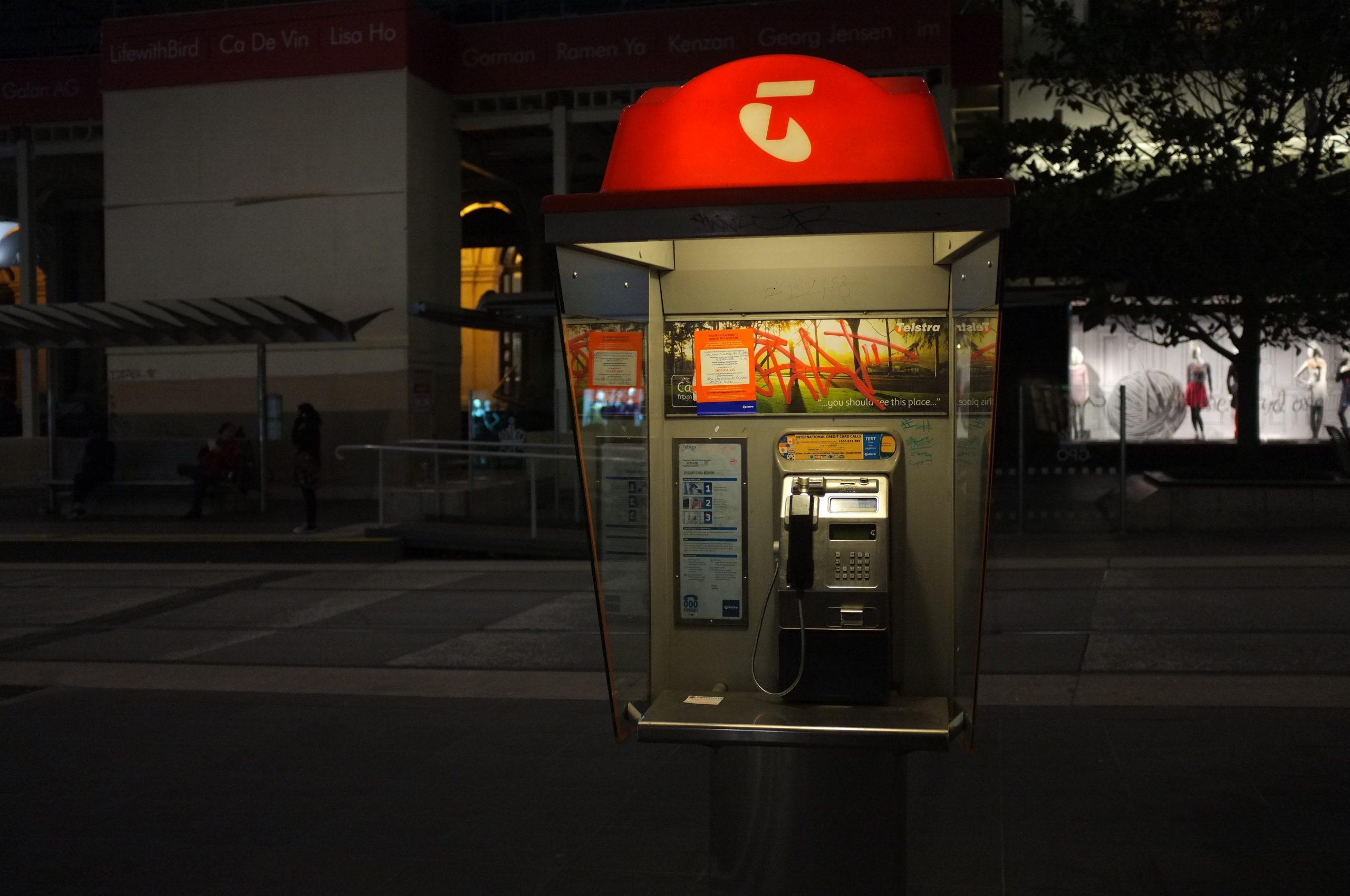 Telstra Phone Booth